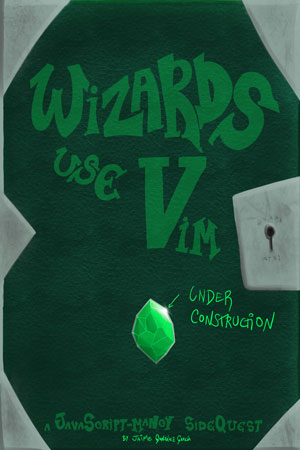 Draft 3 Wizards Use Vim Cover