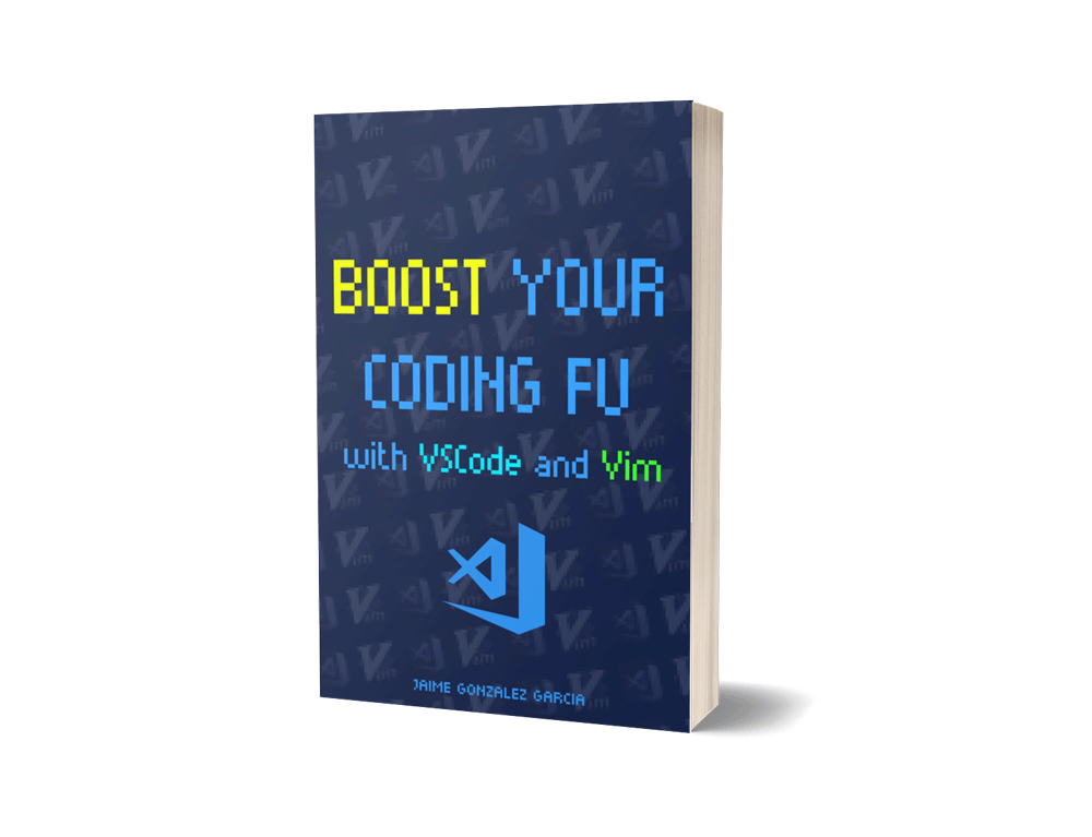 Boost Your Coding Fu With Visual Studio Code and Vim The Book Cover image