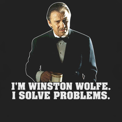 Winston 'The Wolf' Wolfe, from Pulp Fiction