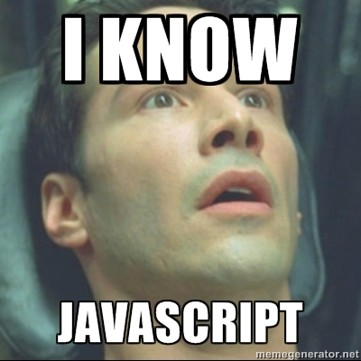 Neo learns JavaScript