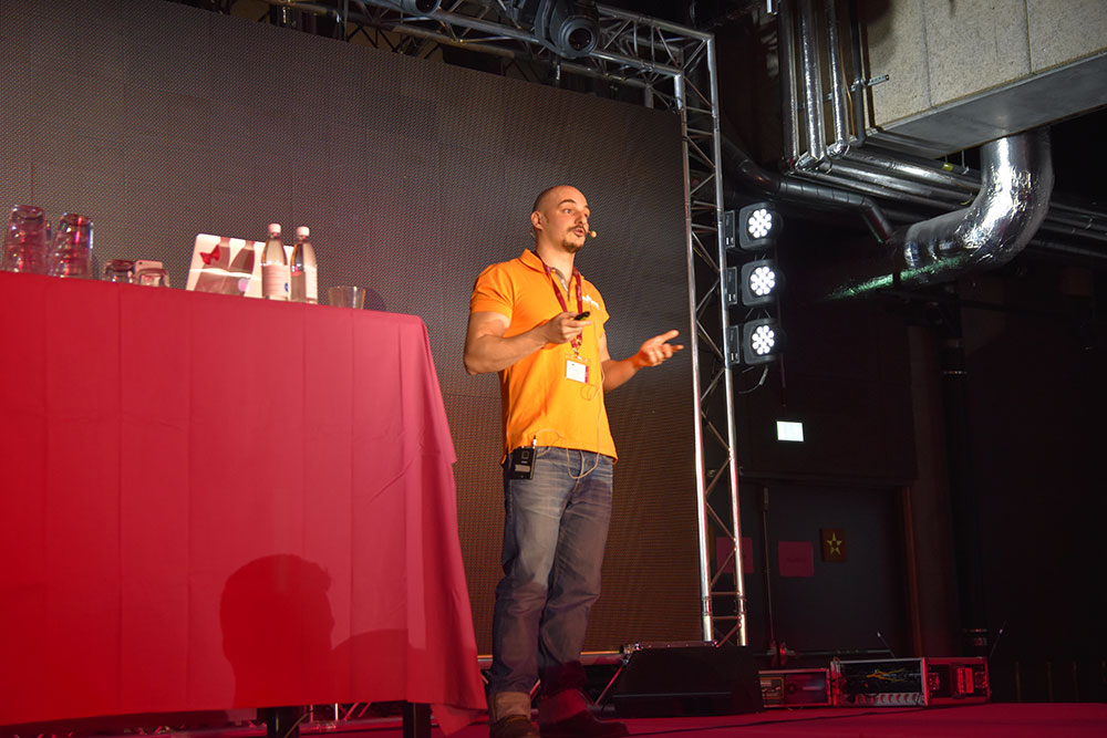 Jaime Gonzalez Garcia speaking at Swetugg 2016