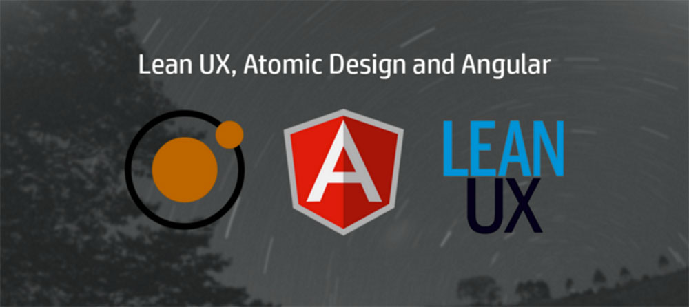 Lean UX, Atomic Design and Angular Logos