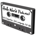 The Hello World Podcast Logo