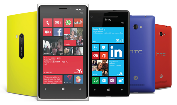 Some Windows Phone 8 devices